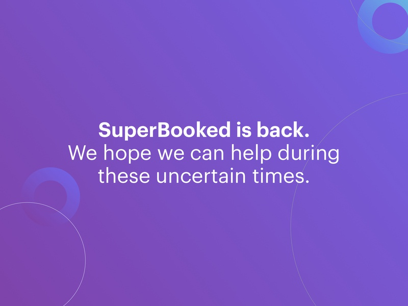 SuperBooked is back.