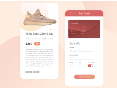 Daily UI 01 - Card Check Out