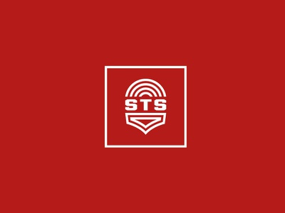 STS sts logo security alarm home wireless shield safety strong mark icon