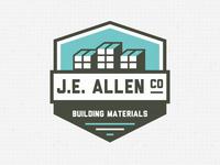J.E.ALLEN Logo