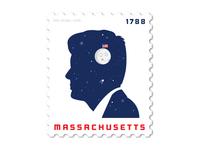 Massachusetts Stamp