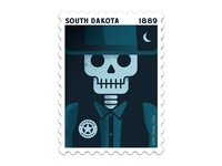 South Dakota Stamp
