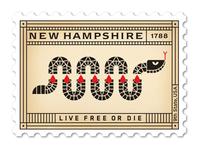 New Hampshire Stamp
