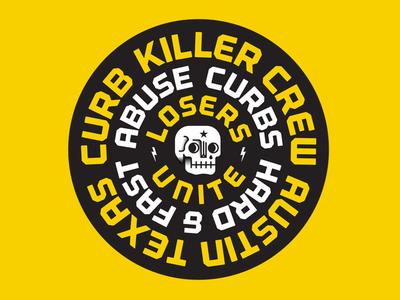 Curb Killer Crew badge