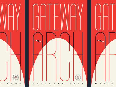Type Hike Gateway Arch