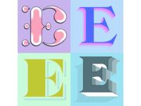 """Study on """"E"""""""