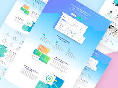 Saas (Software as a service) Landing page