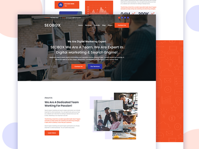 3rd Homepage for SEOBOX
