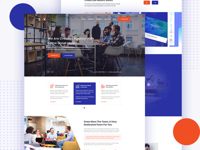 New homepage for SEOBOX