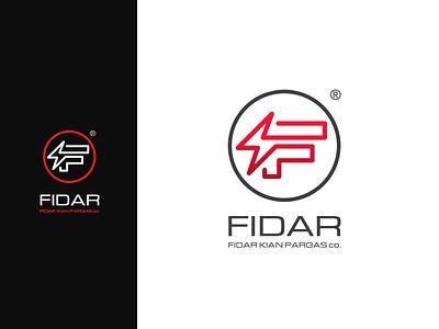 FIDAR co. logo vector branding logo design diaco diacodesign