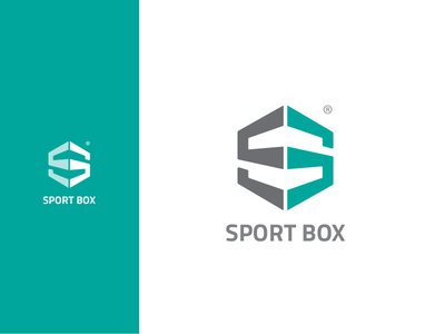 SPORT BOX logo typography logo design brand identity logo alphabet logodesign branding and identity branding logo diaco diacodesign