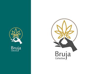 Bruja CBD Collective Logo design brand identity branding and identity logo design diaco branding diacodesign logodesign logo