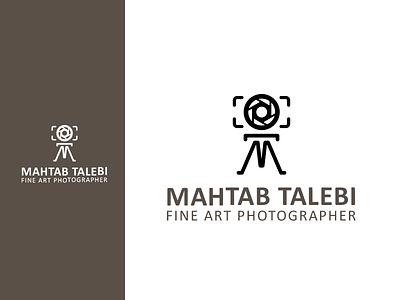 Mahtab Talebi, photographer logo brand identity logodesign logo diacodesign