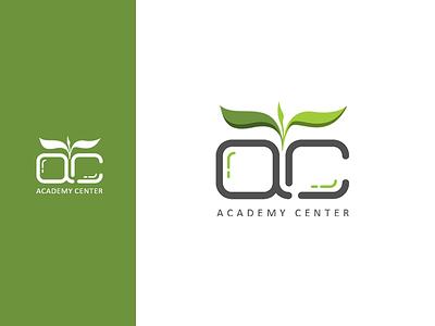 Academy Center Logo branding diacodesign logo
