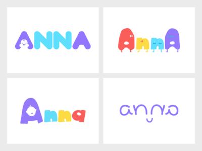 Anna Logo Samples