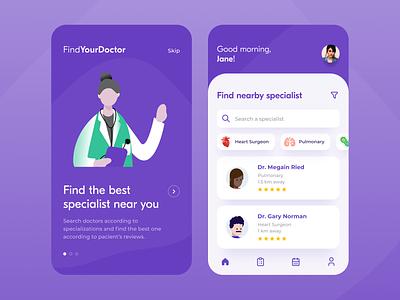 Health App health app mobile app mobile ui uxdesign ux ui figmadesign