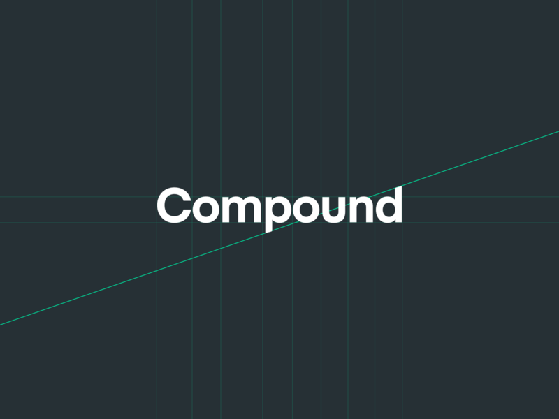 Compound Identity style guide mark logo identity brand cryptocurrency compound ethereum defi