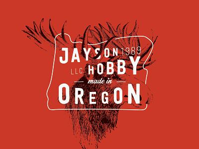 Made In Oregon oregon logo made moose 1989