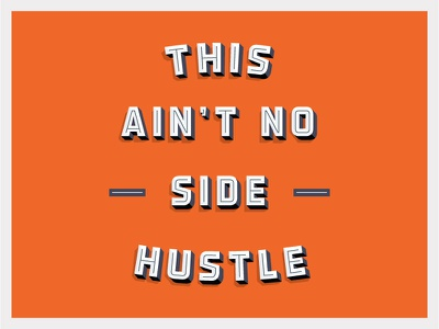 Main Hustle detroit hustle type