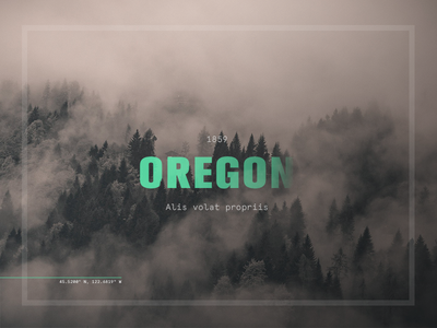 Oregon usa state navigate outdoors clouds fog portland oregon