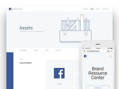 Facebook Brand Resource Center web resource brand facebook