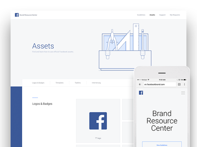 Facebook Brand Resource Center web resource brand facebook