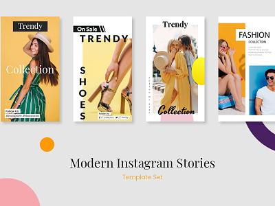Instagram Stories ads modern trendy fashion brand fashion app fashion instagram template instagram post insta story instagram stories instagram