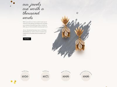 The Bharatji typography web modern design ux ui web ui-ux vector illustration