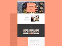Chef's Website Design