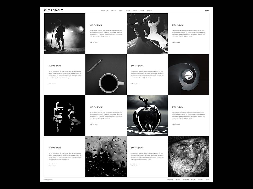 Chessgraphy photography website design photography photograph photo wordpress theme website design wordpress web deisgn