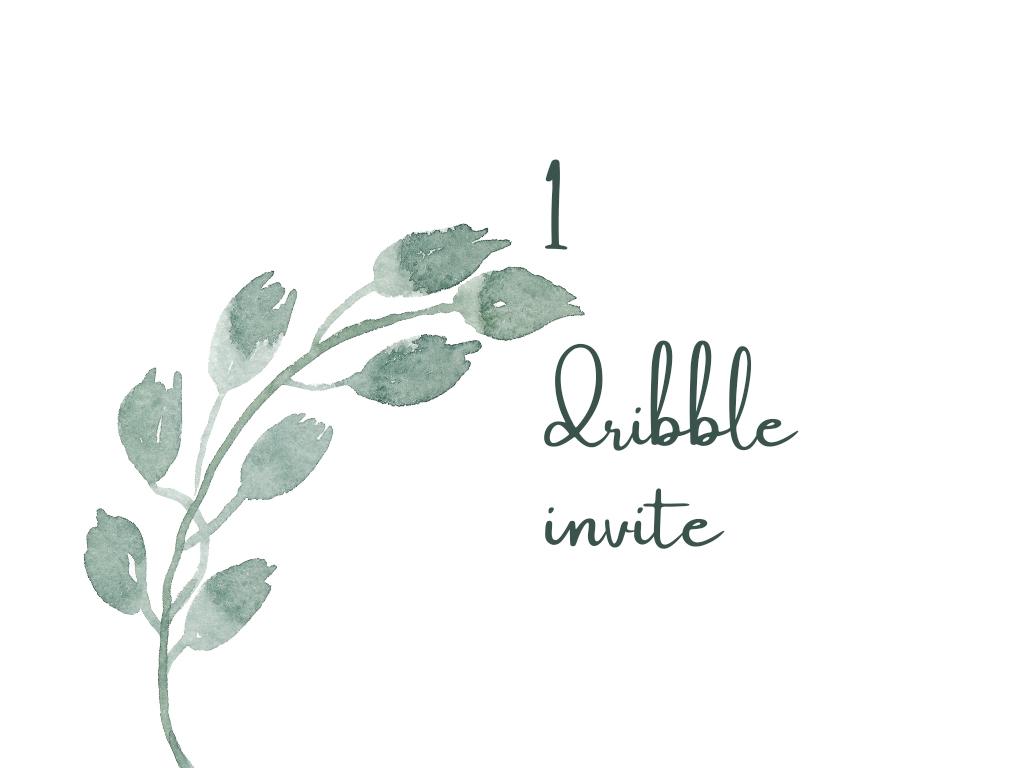 Dribble Invite invite giveaway dribbble invite invite invitation dribbble