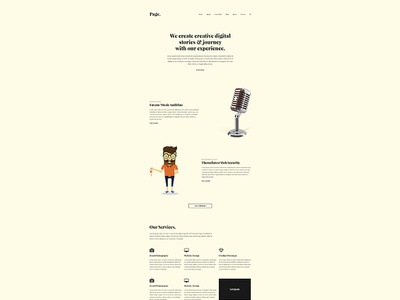 Page agency web agency website design wordpress theme wordpress web design agency website