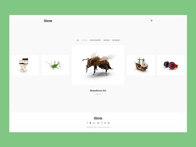 Them wordpress theme website design carousel portfolio agency website wordpress web design