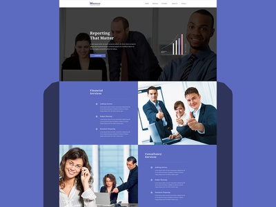 Manage business and finance agency website business agency agency business website design web design