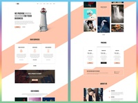 Roo - One Page Agency Template