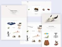 Minimal Portfolio Web Design