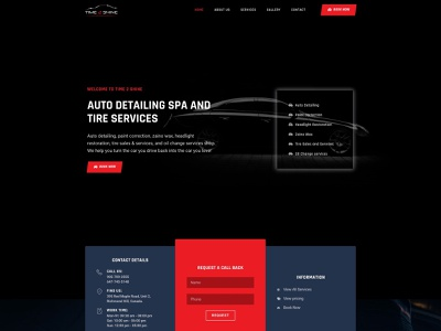 Web Design for Time2Shine agency website business agency wordpress website design web design