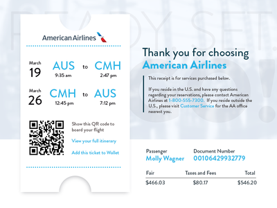 Daily UI — 017   Email Receipt