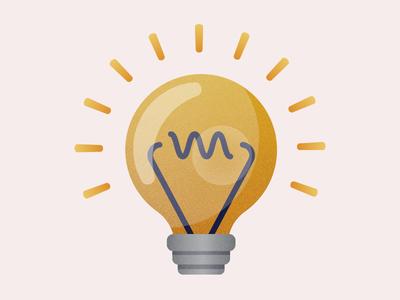 iMessage Light Bulb Sticker