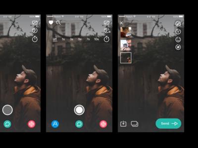 Social app icons application mobile ios app photo app take photo effects social camera photo