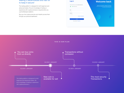 Free ICO Crypto Currency Website Template token timer website exchange animation homepage bitcoin currency crypto landing ico template