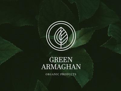 Green Armaghan Logo / Branding