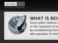 Reverse Spin Globe