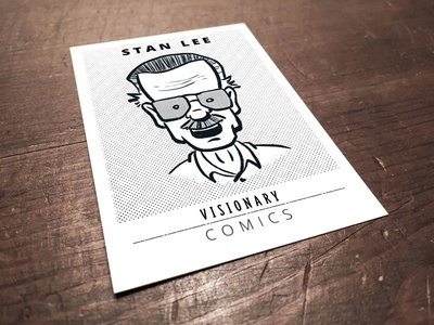 Stan Lee - Visionary Trading Card