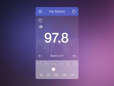 Fm Radio Ui (Rebound)