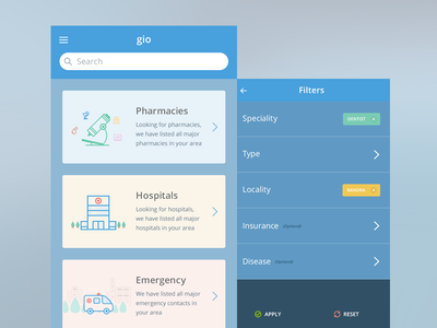 Medical Search App