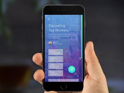 Crowd funding social app