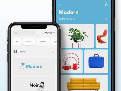 Proppy Product Themes ui app india ios props delivery ondemand ecommerce app saurabhuxd