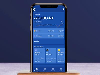 Crypto Exchange Platform metric graph coin currency wallet profile dashboard xrp ethereum bitcoin fintech crypto app india saurabhuxd