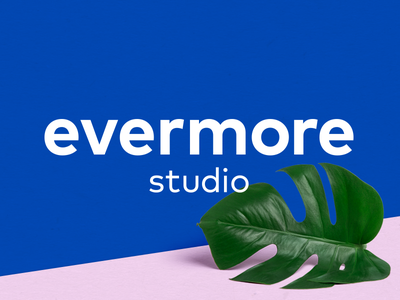 evermore blue pink design inspiration webdesign ux logo brand pastel studio identity branding